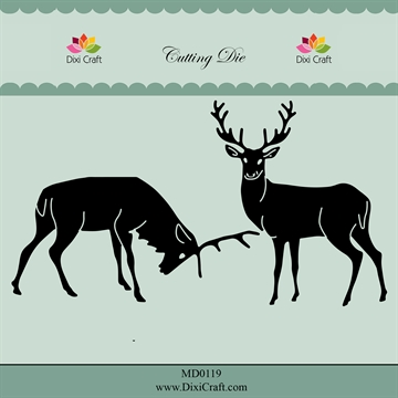Dixi Craft - Die - MD0119 - Reindeers